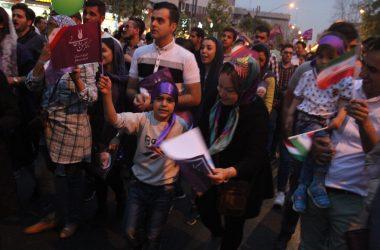 [REPORTAGE] Scènes de joie à Téhéran après la réélection de Rohani